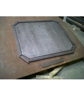 Repair-Manufacture metal suction cup