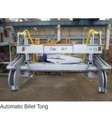 AUTOMATIC BILLET TONGS HEPPENSTALL