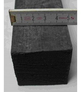 K9007 MOSRUBBER BLACK NATURAL RUBBER 50X50