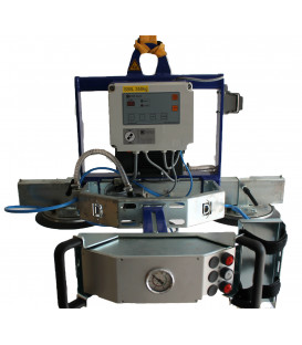Vacuum lifting device for sheet metal and waterproof products